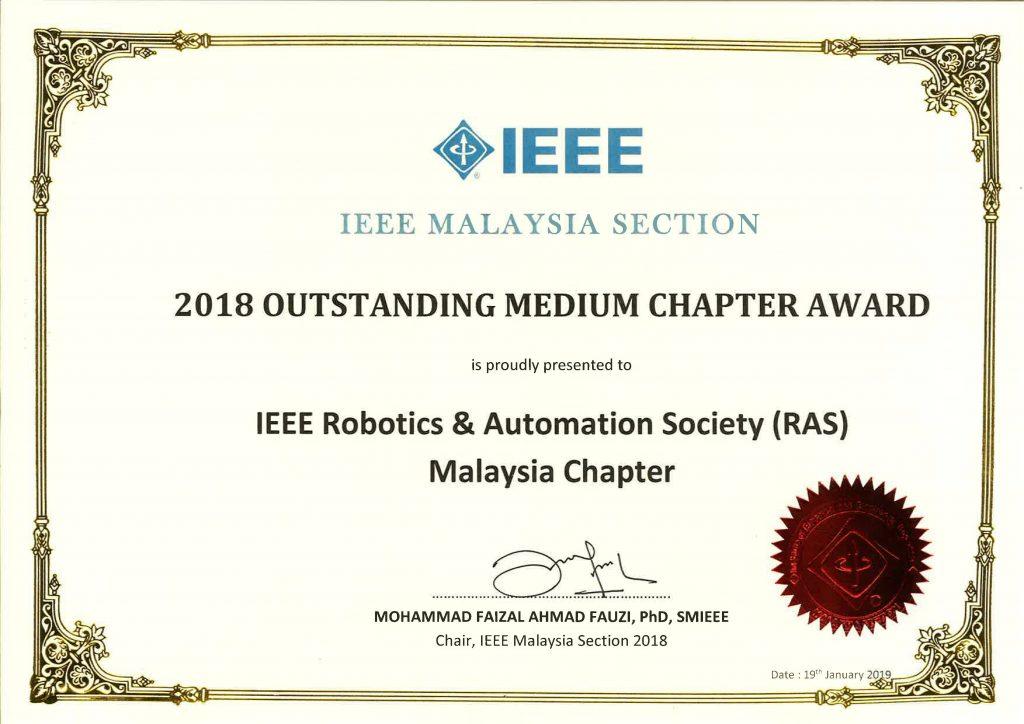 Ieee Ras Malaysia Chapter